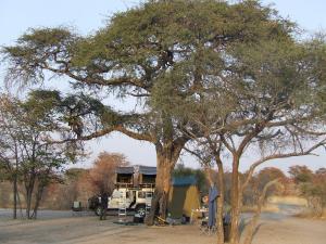 4WD camping in Botswana