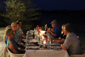 Dinner under the stars at The Fort