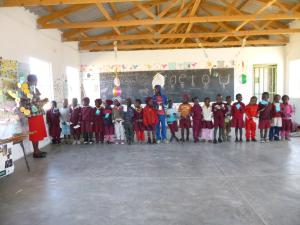 Class time in Zimbabwe