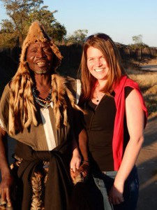 One of these people is a witch doctor - guess who?