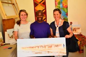 Bulawayo artist Stanley Sibanda