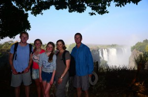 The Ham Family, Victoria Falls