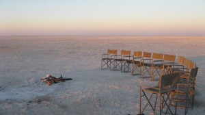 On a clear day you can see forever - Makgadikgadi Pans Botswana