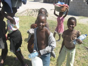 Wash day, I bet you wish your kids were this happy to help