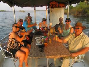 Sunset Cruise Zambezi River